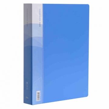 得力(deli)资料册 5230  30页   A4文件夹插页袋 加厚型档案收纳册 单只装 清仓