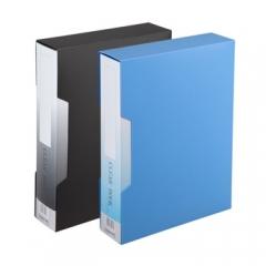 齐心 NF100AK-1 办公必备大容量资料册 A4 100袋外壳