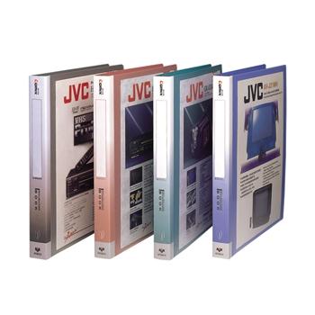 齐心 NF406A-S 办公必备活页资料册 A4 20袋30孔塑胶夹