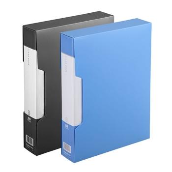 齐心 PF80AK-1 超省钱大容量资料册 A4 80袋外壳